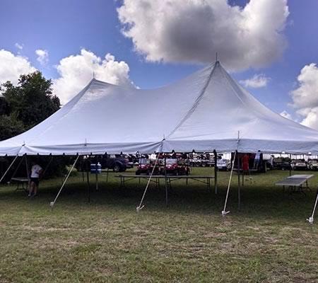 Pole Tent Rentals : Tents Over Texas